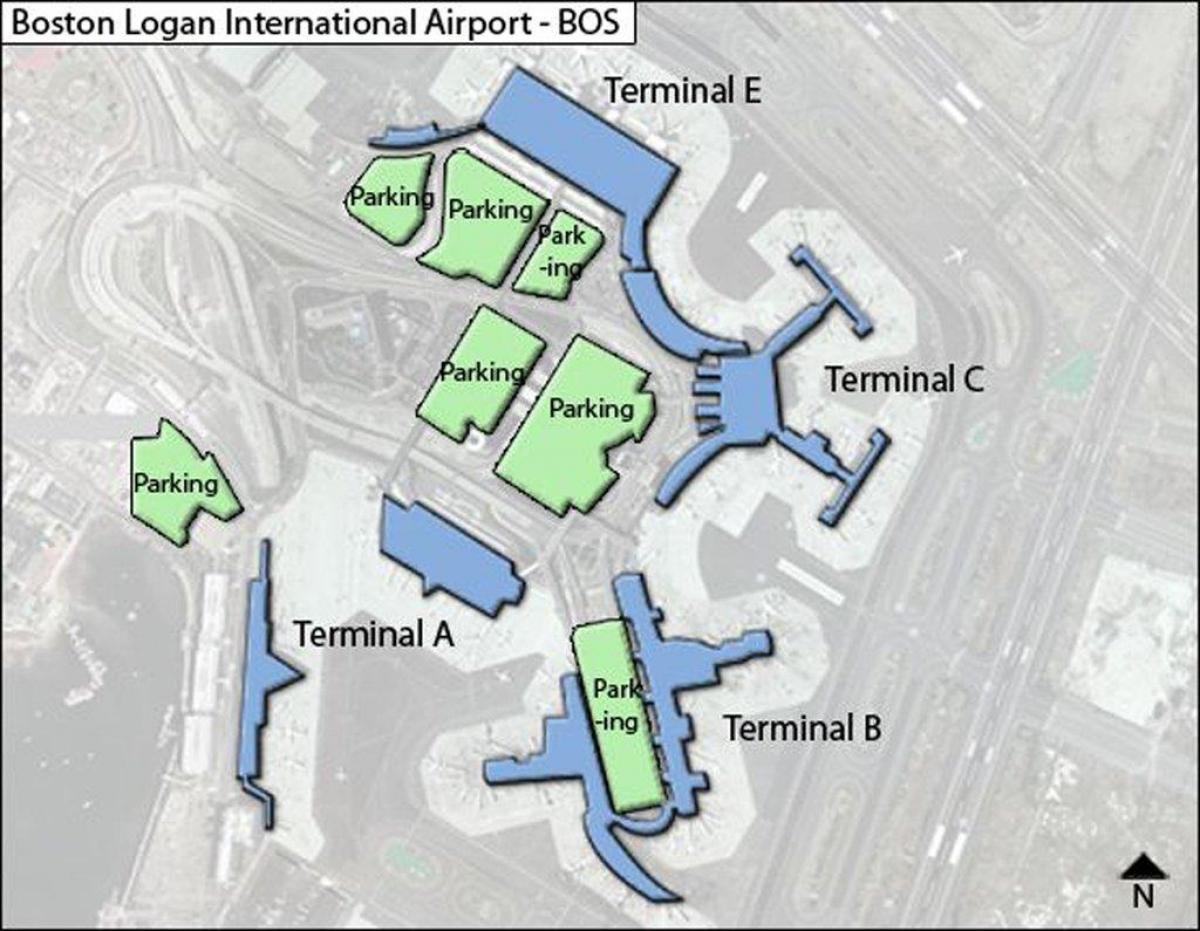 Logan Airport Terminal C Map Logan airport terminal c map   Map of Logan airport terminal c